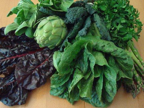 Dark green vegetables