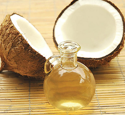 coconut and Vitamin E oil