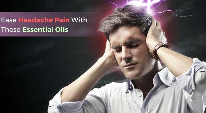 Aromatherapy headache
