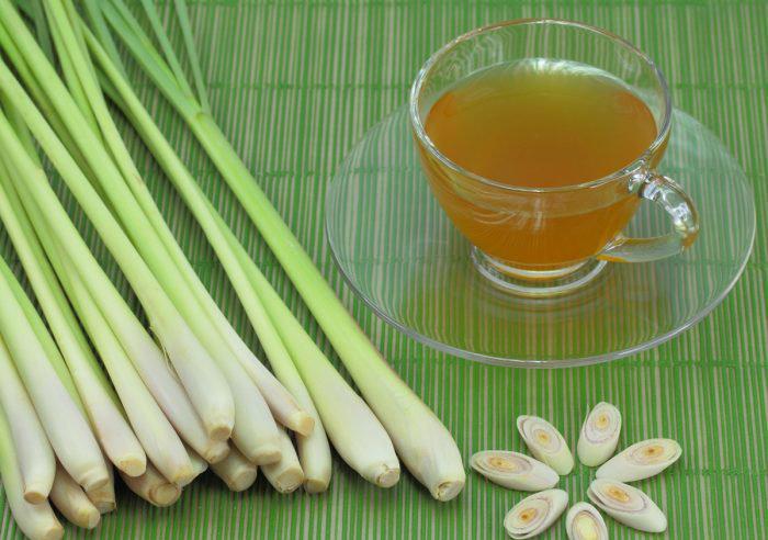Lemon-grass tea