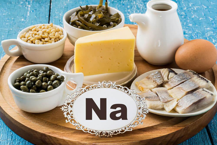 Sodium benefits deficiency symptoms and food sources for Glutamate de sodium cuisine